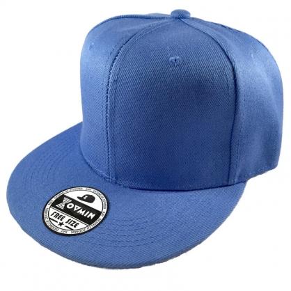 立體繡訂製-水藍色嘻哈帽