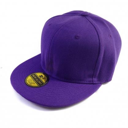 立體繡訂製-紫色嘻哈帽