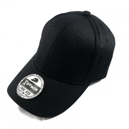 立體繡訂製-兒童黑色棒球帽