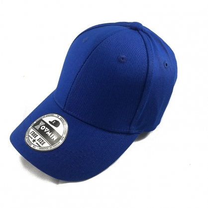 立體繡訂製-兒童藍色棒球帽