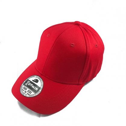 立體繡訂製-兒童紅色棒球帽