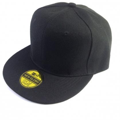 平繡訂製-黑色嘻哈帽(kid)