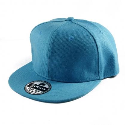 平繡訂製-水藍嘻哈帽(Kid)