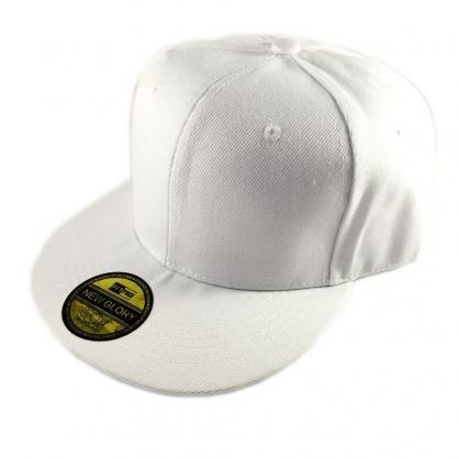 立體繡訂製-白色嘻哈帽(kid)