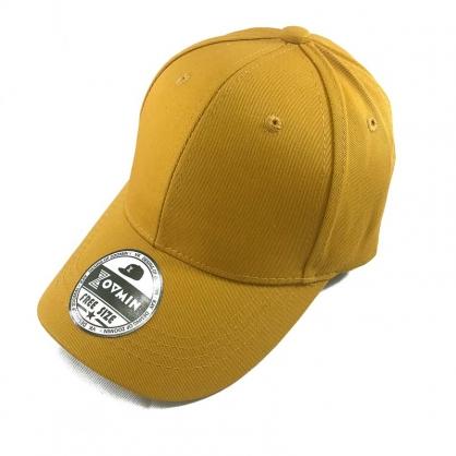 兒童棒球帽-桔黃色(可調節)