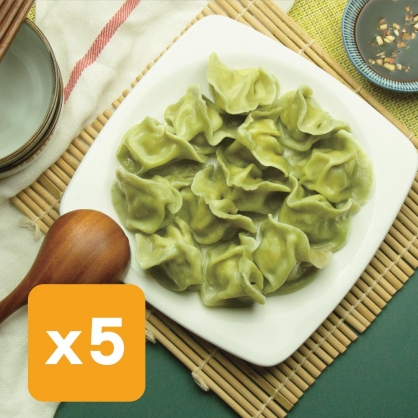 萵苣高麗菜豬肉水餃5包
