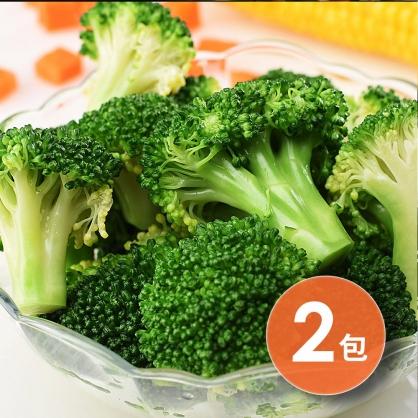 【超低自由配.77元任你選】素食可食 綠脆花椰菜x2包(400g/2包.原味)【減脂好朋友】|狂吃crazy eat[SOONSHOW順效限定]