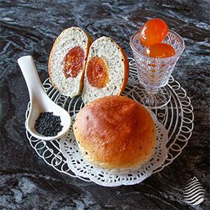 活力金棗酵母 芝麻金棗特製麵包