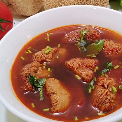 精炖红烧猴菇肉肉锅