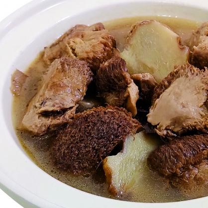 浓香麻油猴菇姜姜锅