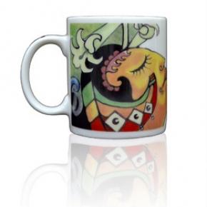 排灣族公主濾掛式咖啡專用馬克杯