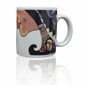 排灣族勇士濾掛式咖啡專用馬克杯