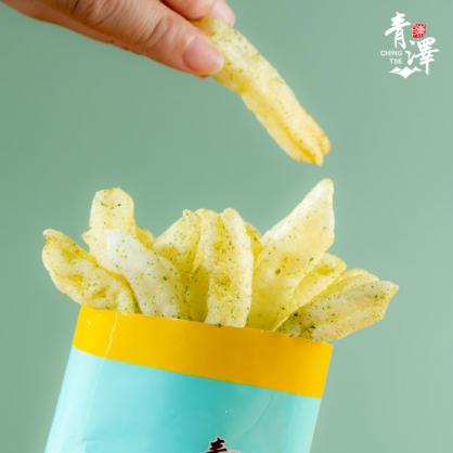 火燒蝦風味蝦薯條-海苔