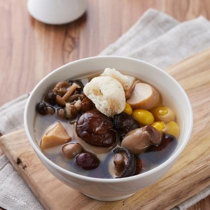 銀杏珍菇養生湯