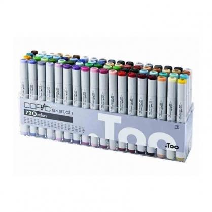 日本原裝進口 COPIC sketch 第二代麥克筆 72 Color 72色 B色系 盒裝 /盒 (原廠公司貨)