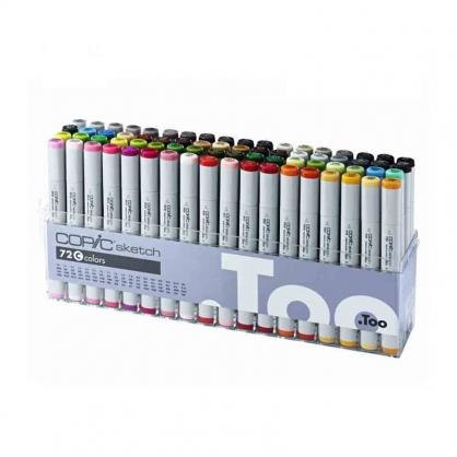 日本原裝進口 COPIC sketch 第二代麥克筆 72 Color 72色 C色系 盒裝 /盒 (原廠公司貨)