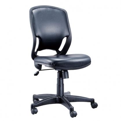 R1 網布 辦公椅 黑皮 /張 LV-106P