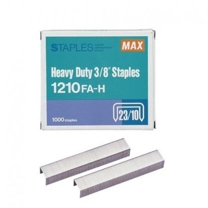 日本 MAX 美克司 (23/10) 裝釘針 釘書針 /盒 1210FA-H