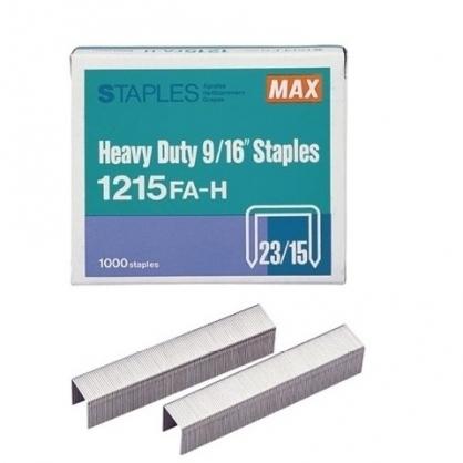 日本 MAX 美克司 (23/15) 裝釘針 釘書針 /盒 1215FA-H