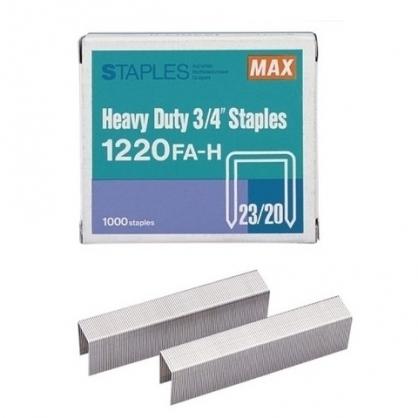 日本 MAX 美克司 (23/20) 裝釘針 釘書針 /盒 1220FA-H