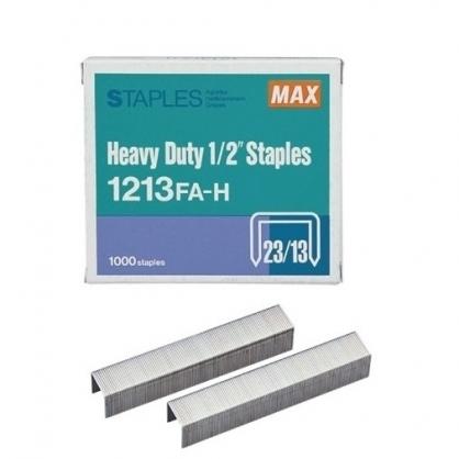 日本 MAX 美克司 (23/13) 裝釘針 釘書針 /盒 1213FA-H