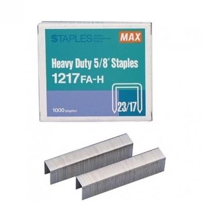 日本 MAX 美克司 (23/17) 裝釘針 釘書針 /盒 1217FA-H