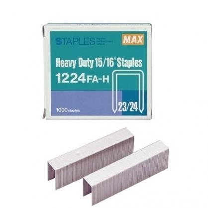 日本 MAX 美克司 (23/24) 裝釘針 釘書針 /盒 1224FA-H