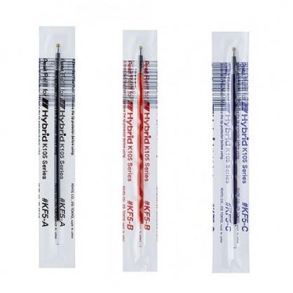 Pentel 飛龍 中性筆芯  0.5mm  12支/盒 KF5