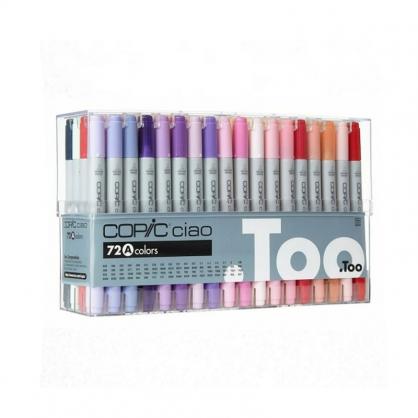 日本 COPIC 酷筆客 Ciao 第三代麥克筆 72 Color Set A 72色 A色系 盒裝 /盒 (原廠公司貨)