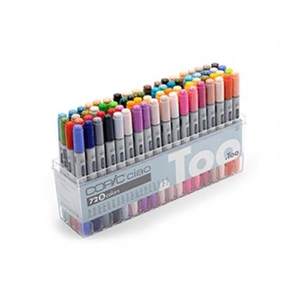 日本 COPIC 酷筆客 Ciao 第三代麥克筆 72 Color Set B 72色 B色系 盒裝 /盒