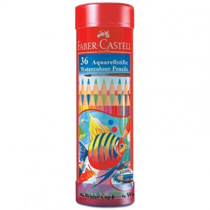FABER-CASTELL 輝柏 36色水彩色鉛筆/棒棒筒 115936