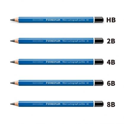 德國 STAEDTER 施德樓 頂級藍桿 超寬 素描鉛筆 12入/盒 MS100 J