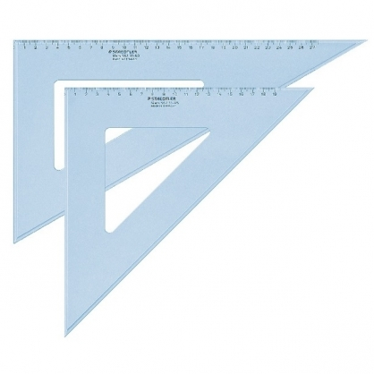 德國 STAEDTER 施德樓 31cm精準 三角板 /組 MS567 31