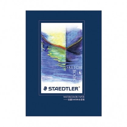 德國 STAEDTER 施德樓 水彩本 16K (法國水彩紙) /本 MS-T-W016