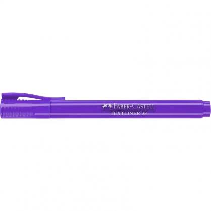 FABER-CASTELL 輝柏 超感度螢光筆-紫色 10入 /盒 157736