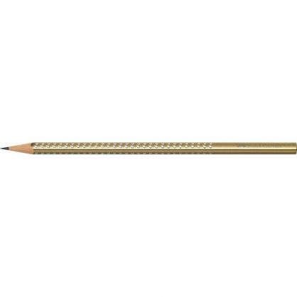 FABER-CASTELL 輝柏 三角點鑽石墨鉛筆-玫瑰金 12入/盒 118337