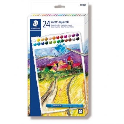 德國 STAEDTER 施德樓 設計家 水性 蠟筆 24色/組 MS223 C24