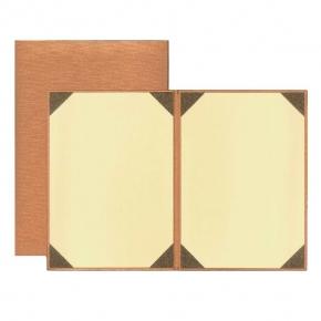 WU 雕皮紋 空白 無字 A4 畢業 證書夾  銅金 聘書夾 獎狀夾  30本 /箱  5GR-816N