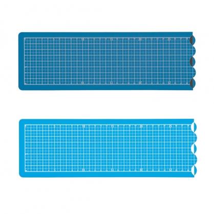 NAKABAYASHI 可折式長型切割墊 (深藍色/天藍色) / 片 CTMO-A201-DB/CTMO-A201-SB