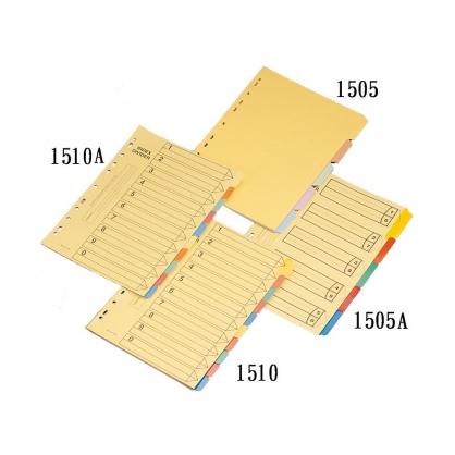 FLYING 雙鶖 膠膜五段分隔紙 5張入 / 包 1505A