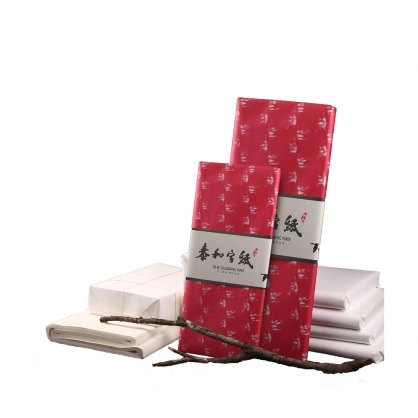泰和宣紙 單宣白紙包裝 對開 100張 / 包 AP-1294