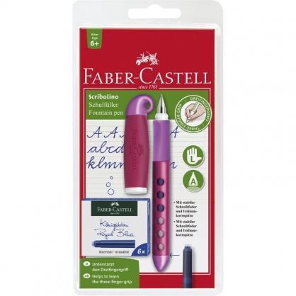 FABER-CASTELL 輝柏 學齡兒童鋼筆(F)-左手專用/支 149803