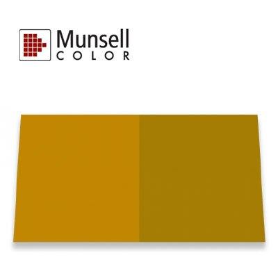 "Munsell 孟塞爾 USDA 南瓜色彩標準 (USDA Pumpkin /Squash Color Standard 3""x5"" Panel)  【接受預購商品】"