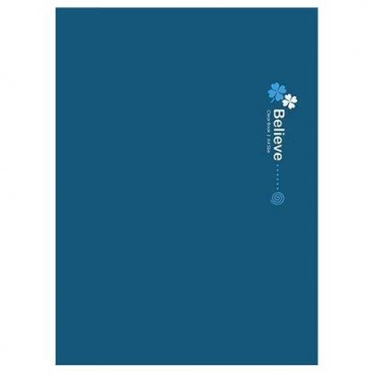 美加美 相信幸運草20入資料簿-藍 / 本 AE2001