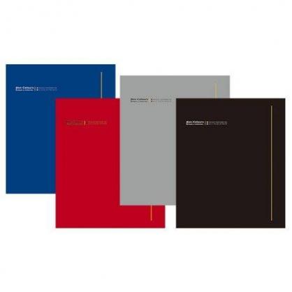 美加美 NC A3 20入資料簿-黑灰紅藍 / 本 AG2009