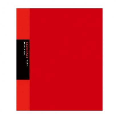 美加美 COMPACT 20入資料簿-紅 / 本 AO2051