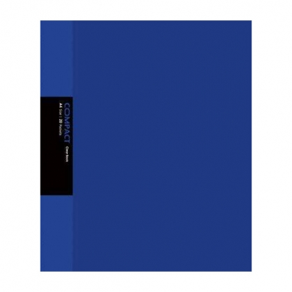 美加美 COMPACT 20入資料簿-藍 / 本 AO2052