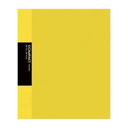 美加美 COMPACT 20入資料簿-黃 / 本 AO2053