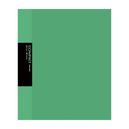 美加美 COMPACT 20入資料簿-綠 / 本 AO2054