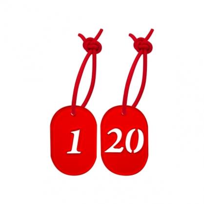 W.I.P 寄物用號碼牌(附繩) /個 NO.300